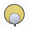 "Promaster-ReflectaDisc Gold/Silver 32"" #3864-Light Tents, Softboxes, Reflectors and Umbrellas"