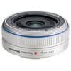 Olympus-M.Zuiko Digital 17mm 1:2.8 Pancake Lens - Silver-Lenses - SLR & Compact System