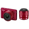 Nikon-1 S2 Compact Interchangeable Lens Camera with 11-27.5mm and 30-110mm VR Lenses-Digital Cameras