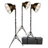 Promaster-Basic 3-Light Studio Reflector Kit #2118-Studio Lighting Kits