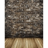 Promaster-Scenic Backdrops - 8' x 10' - Natural Brick #6917-Backgrounds