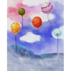 Promaster-Scenic Backdrops - 8' x 10' - Baloons #6980-Backgrounds