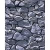 Promaster-Scenic Backdrops - 8' x 10' - Gray Stone #6903-Backgrounds