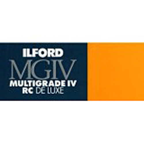 Ilford-Multigrade IV RC Deluxe 25M Satin 8 x 10 (25 sheets)-Photo enlargement paper
