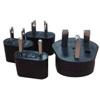 Promaster-XtraPower International Plug Adapter Assortment #3241-Batteries