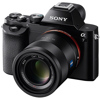 Sony-A7 Compact System Camera with Sonnar T* FE 55mm F1.8 ZA Lens - Black-Digital Cameras