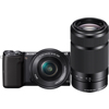 Sony-Alpha NEX-5T Interchangeable Lens Camera with 16-50mm PZ OSS and 55-210mm f/4.5-6.3 Lenses-Digital Cameras