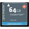 Promaster-64GB Performance Compact Flash #1548-Memory cards, tape and discs