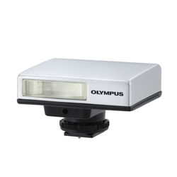 Olympus-FL-14 Electronic Flash made to match E-P1 Pen Camera-Flashes and speedlights