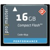 Promaster-16GB Performance Compact Flash #1859-Memory cards, tape and discs