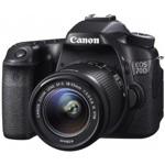 EOS 70D Digital SLR Camera with EF-S 18-55mm IS STM Lens - Black