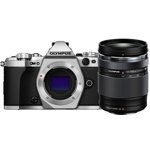 OM-D E-M5 Mark II System Camera with M.Zuiko ED 14-150mm f4.0-5.6 II Lens (Silver)