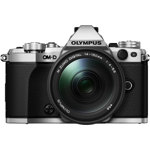 OM-D E-M5 Mark II System Camera with M.Zuiko ED 14-150mm f3.5-5.6 II Lens - Silver