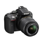 D5300 Digital SLR Camera with AF-S 18-55mm VR and AF-S DX 55-300mm VR Lenses
