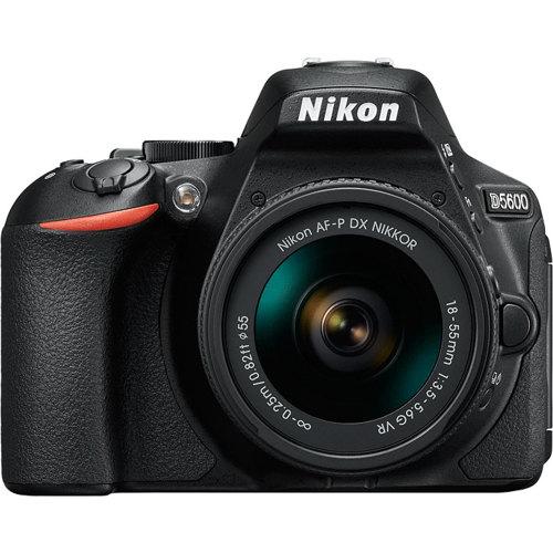 Nikon-Appareil Photo Reflex Numérique DSLR D5600 avec Objectif AF-P 18-55mm VR-Appareil Photo Numérique