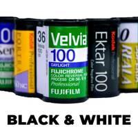 Film Developing - 35 Black & White