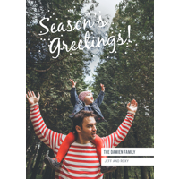 Parallel Lines: 10pk Holiday Greeting Cards