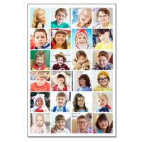 "12"" x 18"" collage with 24 photos borderless"