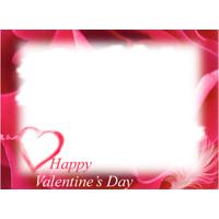valentine frame card