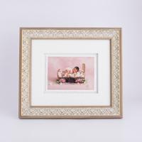 """Portofino White Renaissance Frame 5x5"""""""