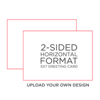 CREATE-A-CARD: 10PK 7X5 FLAT 2-SIDED CARDS