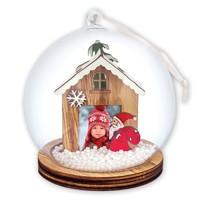Christmas Tree Decoration Snow Dome