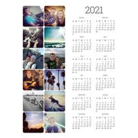 Magnet Calendar (21-03)
