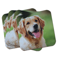 Personalised 4pk Coaster Set 4x4inch