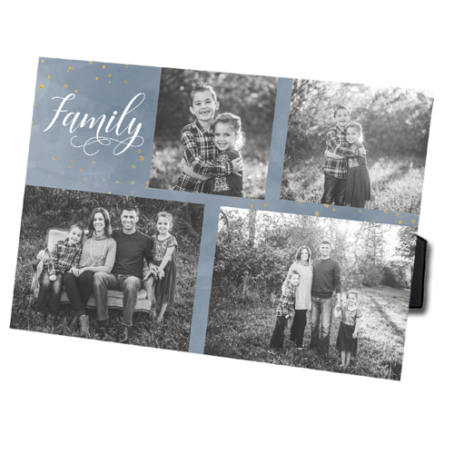 Family 5x7 Photo Easel