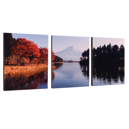 """3-11x14 Premium 3/4"""" Split Image Blocks"""