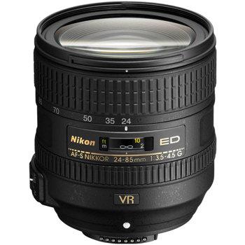 Nikon-AF-S 24-85mm NIKKOR f/3.5-4.5G ED VR-Lenses - SLR & Compact System
