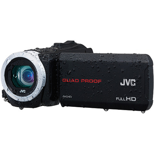 JVC-GZ-R10 Quad Proof and Long Life Full HD Camcorder-Video Cameras