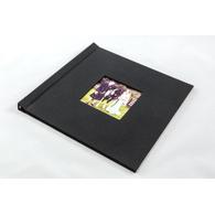 8 x 8 Square Black Cloth with Window