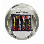 ProMaster-XtraPower Express NiMH Charger (includes 4 AA batteries)