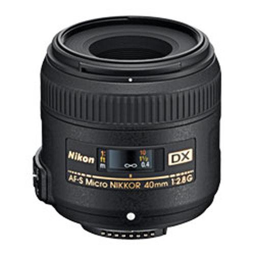 Nikon-AF-S DX Micro 40mm F2.8G-Lenses - SLR & Compact System