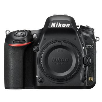 Nikon-D750 DSLR Camera - Body Only - Black-Digital Cameras