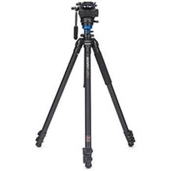 Benro-A2573FS4 Series 2 AL Video Tripod & S4 Fluid Video Head-Tripods & Monopods