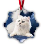 Snowflake Metal Ornament -1S
