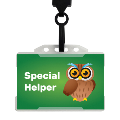 20 x Special Helper Badges