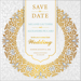 Luxury - 2 Sided Save the Date