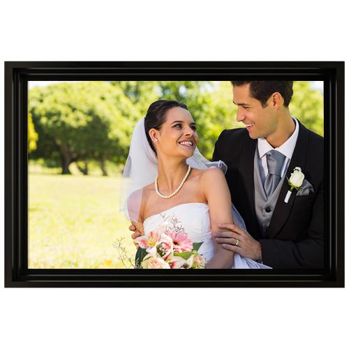 Framed Photo Canvas - 24x36 - H