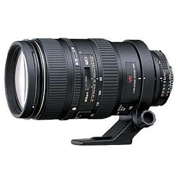 Nikon-AF 80-400mm VR Zoom Nikkor F/4.5-5.6D ED-Lenses - SLR & Compact System