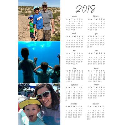 Magnetic Calendar - (18-03-V)