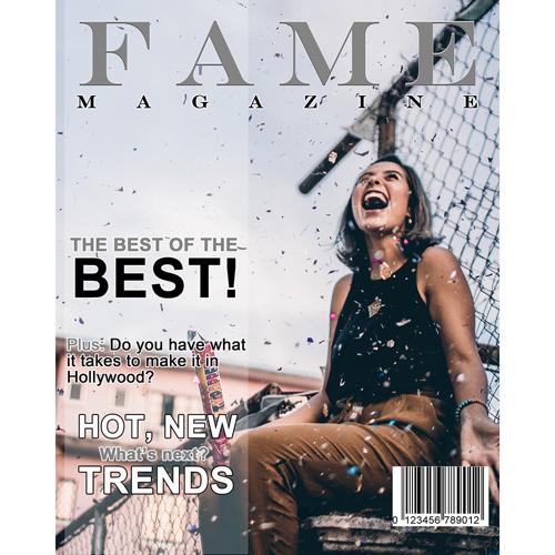 8x10 Fame Magazine Cover