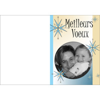 """Carte Meilleurs Voeux (5""""x7"""") - Vertical"""