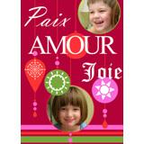 5 x 7 Paix, Amour, Joie