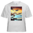 T-Shirt with Large Vertical Image 8 x 10