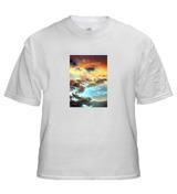 T-Shirt with Medium Vertical Image 5 x 7