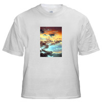 T-Shirt with Medium Vertical Image 5 x 7