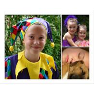 Collage horizontal avec 3 photos de formats différents - 16 x 20